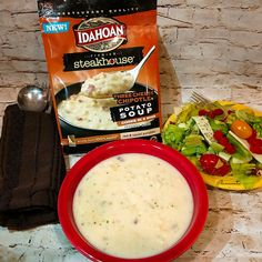 #IdahoanSteakhouseSoups #ad @idahoanfoods My Big Italian Salad Recipe, Romaine, Boston Leaf, Pepper Rings, croutons, spice, salt, pepper, tomatoes, red onions, salads, Italian, chopped, sweet, good, vinegar, oil, fresh, sides, dressing, easy, weekly, vegetables,