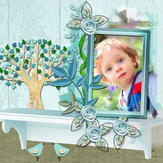 Family Love by AneczkaW [ link ]   Art Blends Templates 1-4 by Butterflies and Bluebells [ link ]