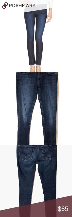 """AG Adriano Goldschmied """"The Stilt"""" Jeans, EUC AG Adriano Goldschmied """"The Stilt"""" Jeans, Cigarette Leg. EUC. Size 26R. Rise about 7.5"""", Inseam about 29"""". Ag Adriano Goldschmied Jeans Skinny"""