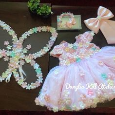 1st Birthday Girl Dress, Butterfly Birthday Party, Fairy Birthday Party, 1st Birthday Outfits, Birthday Party Decorations, Baby Girl Frocks, Little Girl Dresses, Baby Gallery, Baby Frocks Designs