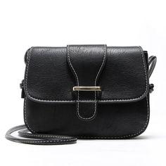 Retro Mini Zipper Hasp Crossbody Bags for Women 2629