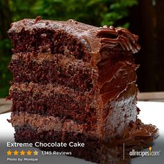 January 27: National Chocolate Cake Day | Extreme Chocolate Cake