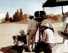 "Behind the scenes of John Ford's first sound western, 'Stagecoach.' ""It was as well no doubt the first Western inspired by a Guy de Maupassant story ('Boule-de-suif': 'Ball of Fat'), and the one film Orson Welles ran forty times (each screening with different craftsmen) while he was preparing 'Citizen Kane.' In fact, Welles used 'Stagecoach' as a kind of handbook in the production of a well-made popular yet poetic drama. Although it has been officially redone twice, stolen from and…"