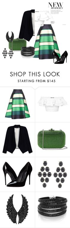 """Casual Look#16"" by onelastmagicalwish on Polyvore featuring Lanvin, Alexander McQueen, Alice + Olivia, Judith Leiber, Dolce&Gabbana, Ippolita, Plukka and Sif Jakobs Jewellery"