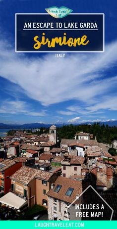 Sirmione is blessed with mild weather, rich history and of course, the lovely Lake Garda. A hidden gem in Italy, it's my fav small town!