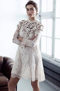 H&M white lace dress Conscious Collection Spring 2014 Textiles Y Moda, Mode Style, The Dress, Dress Skirt, Sustainable Fashion, Sustainable Fabrics, Passion For Fashion, Dress To Impress, White Lace
