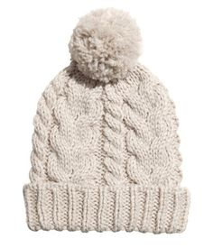 I discovered this Knit Hat - from H&M on Keep. View it now.