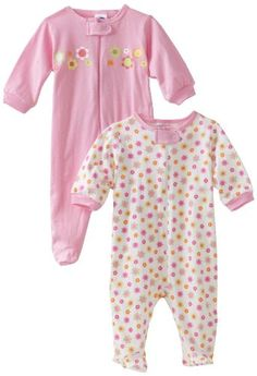 Gerber Baby-Girls Newborn 2 Pack Zip Front Flowers Sleep and Play , Pink, Newborn Gerber,http://www.amazon.com/dp/B007C22YU8/ref=cm_sw_r_pi_dp_9i1dsb1HEN1VY0GZ