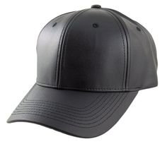 Blank PU Leather Velcroback Caps – HATCOcaps.com