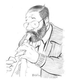 Tullio Pericoli Umberto Eco