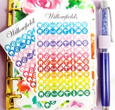 192 Appointments small white Icon circle stickers for Erin Condren, Filofax, Kikki K, Plum Paper, Journals and Scrapbooks 220 by Willowfields on Etsy https://www.etsy.com/listing/235374052/192-appointments-small-white-icon-circle