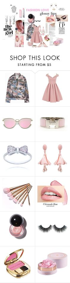 """""""Untitled #41"""" by gurleenkaur02 on Polyvore featuring Zadig & Voltaire, Chi Chi, Hermès, Oscar de la Renta, Balmain and Dolce&Gabbana"""