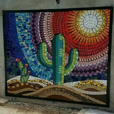 Mosaic Garden Art, Mosaic Pots, Mosaic Glass, Mosaic Tiles, Glass Art, Kitchen Mosaic, Mosaic Artwork, Mosaic Wall Art, Tile Art