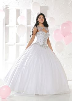 Custom quinceanera dresses in bright colors! These quince dresses can be made in any color. Lots of vestidos de quinceanera to choose from. Quince Dresses, Ball Dresses, Bridal Dresses, Ball Gowns, Prom Dresses, Sweet 15 Dresses, Cheap Dresses, White Quinceanera Dresses, Quinceanera Ideas