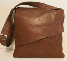 Genuine Leather Soft UNISEX MESSENGER BAG beautiful by coolblade