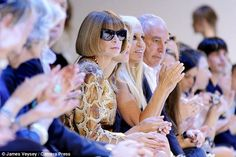 Anna Wintour¿s first husband was child psychologist David Shaffer, with whom she…