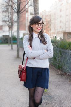 Mode And The City - www.modeandthecity.net Preppy in Paris