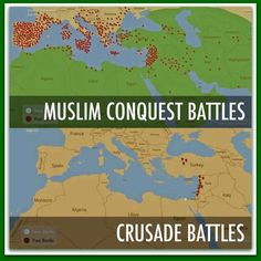 Jihad Vs. Crusades ➠ The Facts Are A BITCH!