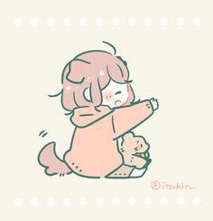 Cute Animal Drawings Kawaii, Cute Little Drawings, Kawaii Art, Kawaii Anime Girl, Cute Drawings, Cute Cartoon Characters, Cute Anime Character, Anime Couples Drawings, Cute Anime Couples