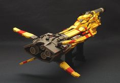 Taiidan Gunship Ver.1 by dasnewten, via Flickr
