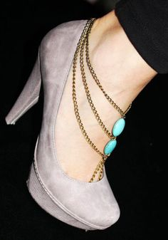 Turquoises Anklet