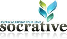"""Socrative is a free web-based student response system (with an app now too). Get instant feedback about what students know about a topic. Eliminates the need for expensive hand-helds. Allows teachers to create quizzes, polls, and exit tickets. Can be used in """"real time"""" by students who each have an iPod Touch/iPad or laptop, or by students rotating through one computer in a classroom center or at home."""