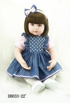 55cm silicone vinyl reborn baby dolls toddler play house toy lifelike newborn reborn doll toys christmas new year boutique gifts