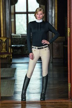 Beautiful English riding attire. A classic and simple look that will keep you styling in the practice pen.
