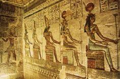 Templo de Hathor y Maat en Deir el Medina