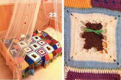 Mis Pasatiempos Amo el Crochet: 30 Patrones gratis de mantillas de bebé crochet…