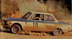 1972 Acropolis Rally (Warmbold & Dorfler) BMW 2002Ti