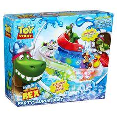 Disney Toy Story Color Splash Buddies Partysaurus Boat