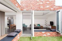 Turnaround House by Architecture Architecture in Melbourne | Yellowtrace - Window seat: like the folding window to the outdoors