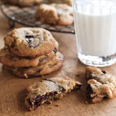 Williams Sonoma Chocolate Chip Cookies - the ones I make for convention with kosher salt