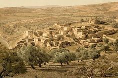 Bethany village Ancient view holy land - Tomb of Lazarus