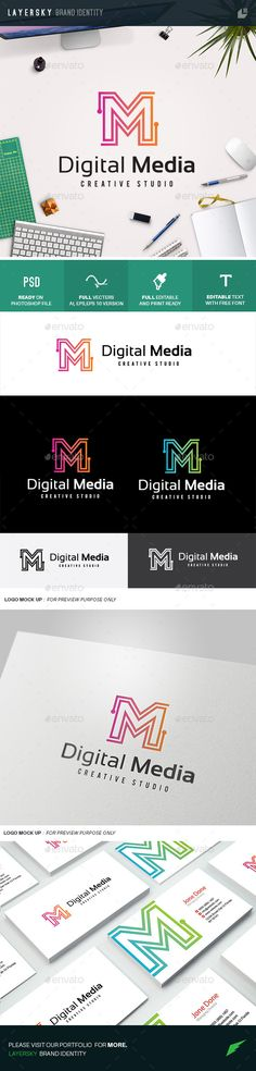 Digital Media — Photoshop PSD #television #radio • Available here → https://graphicriver.net/item/digital-media/10989797?ref=pxcr