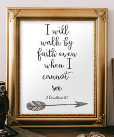 Bible Verse print Printable wall art print 2 by TwoBrushesDesigns #bibleverses