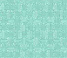 Love this fabric!  This is an amazing site.    Interlock: aqua fabric by nadiahassan on Spoonflower - custom fabric