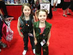 KIDS COSPLAY AT COMIC-CON 2013! Starbuck and Kaywinnit Lee Frye From Fashionably Geek.