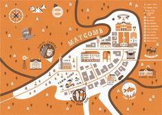 A Map of Maycomb from Go Set A Watchman and To Kill A Mockingbird | Waterstones