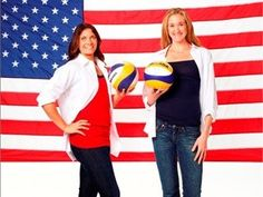 Misty May and Kerri Walsh - Beach Volleyball