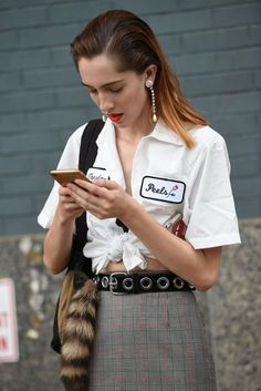 New York Fashion Week Street Style   British Vogue  #SS17 #NYFW September 2016