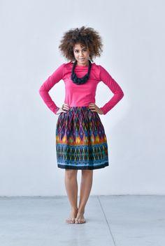 Spódnica Bombka Bomeo    www.kokoworld.pl #kokoworld #handmade #skirt