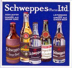 Schweppes by Artist Unknown |  Shop original vintage #posters online: www.internationalposter.com.