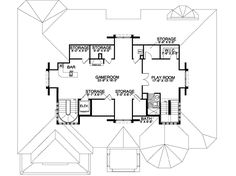 Italian Style House Plans 8441 Square Foot Home 3 Story 6