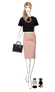 """""""Untitled #187"""" by rebecky89 ❤ liked on Polyvore featuring WtR, Ted Baker, Christian Dior, Nine West and Chanel"""