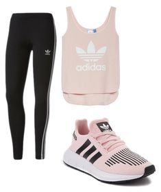 """Workout"" by ellag130 on Polyvore featuring adidas"