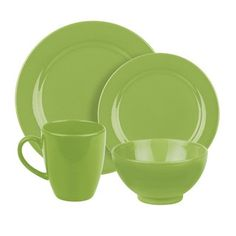 Shop for Waechtersbach 4-piece Fun Factory Green Apple Place Setting. Free Shipping on  sc 1 st  Pinterest & Maxwell \u0026 Williams Sprinkle Yellow Dot Dinnerware \u0026 Accessories ...