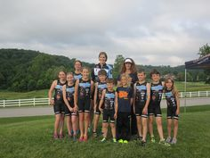 Little Sharks Youth Triathlon Team - Big Shark Bicycle Company - St. Louis, MO
