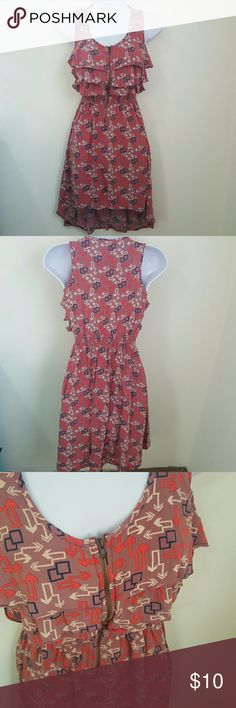 Front Zip High Low Dress Great Condition Xhilaration Dresses High Low